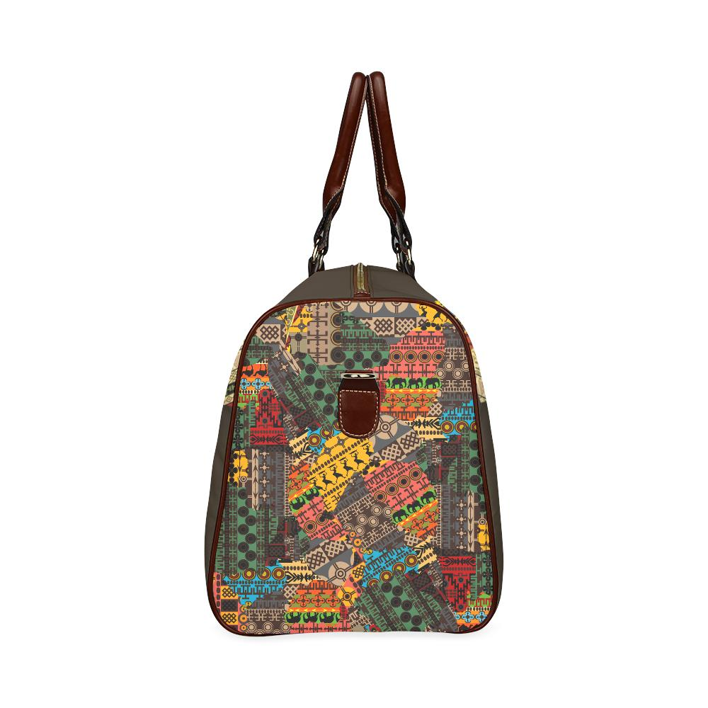 Africa Large Waterproof Travel Bag - Melanin Apparel
