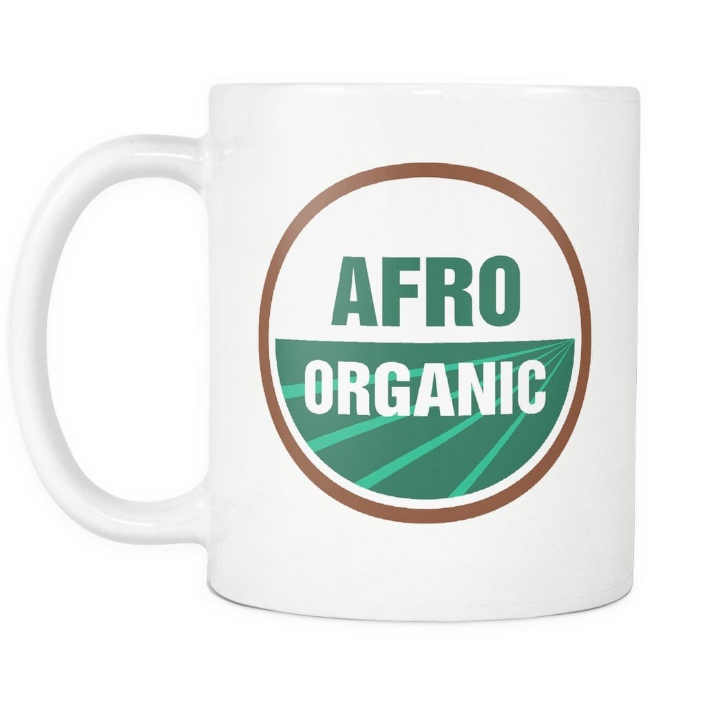 Afro Organic Mug - Melanin Apparel