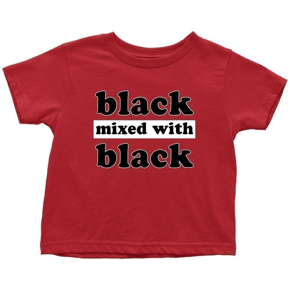Black Mixed With Black - Melanin Apparel