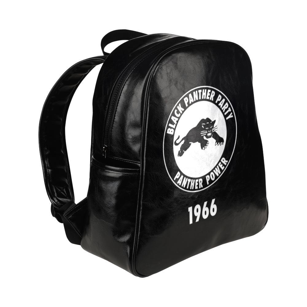 Black Panther Leather backpack - Melanin Apparel