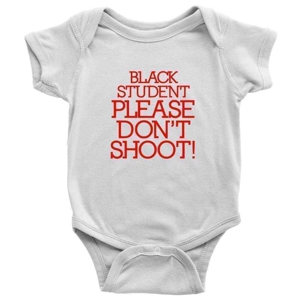 Black Student Please Don't Shoot - Melanin Apparel