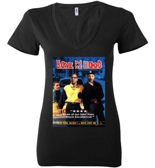 Boyz N The Hood - Barack Obama, Malcolm X, and Martin Luther King Jr. - Melanin Apparel
