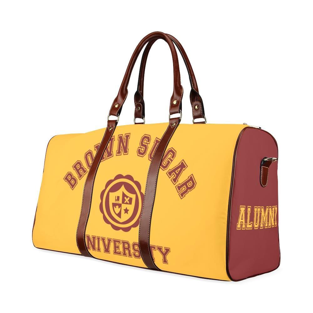 Brown Sugar Large Waterproof Travel Bag - Melanin Apparel