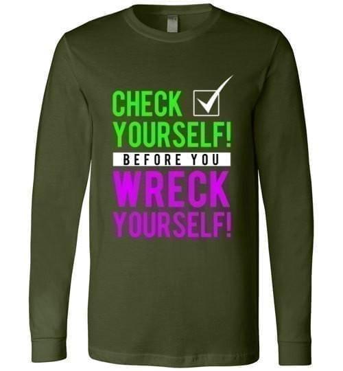 Check Yourself Before You Wreck Yourself - Melanin Apparel