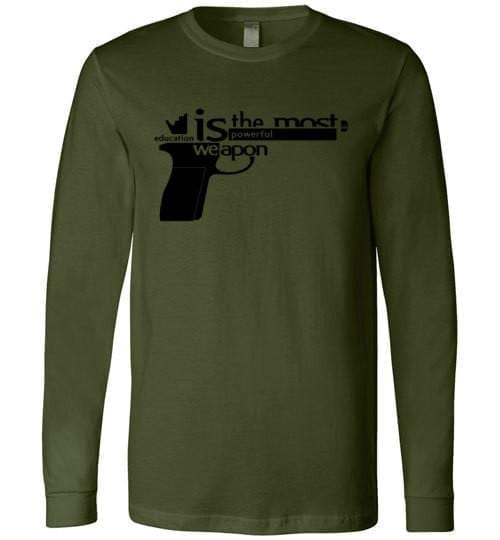 Education Is The Most Powerful Weapon - Melanin Apparel