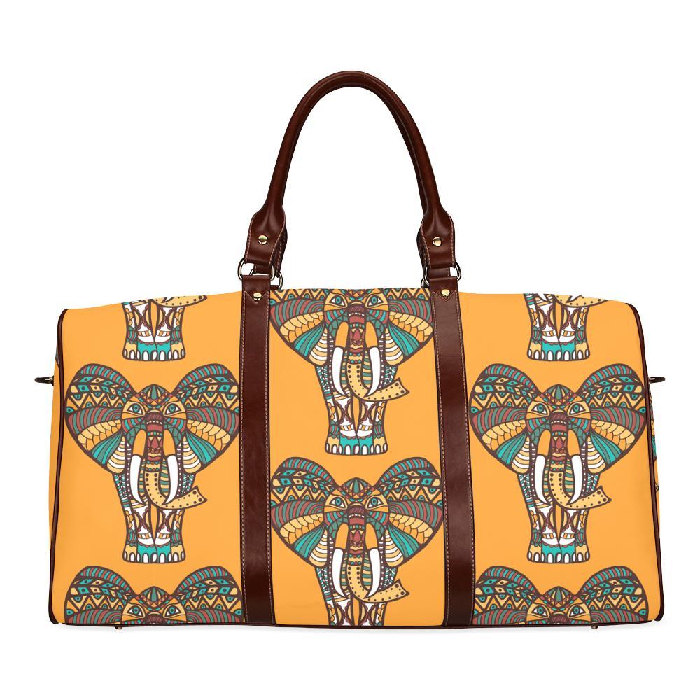Elephant Large Waterproof Travel Bag - Melanin Apparel