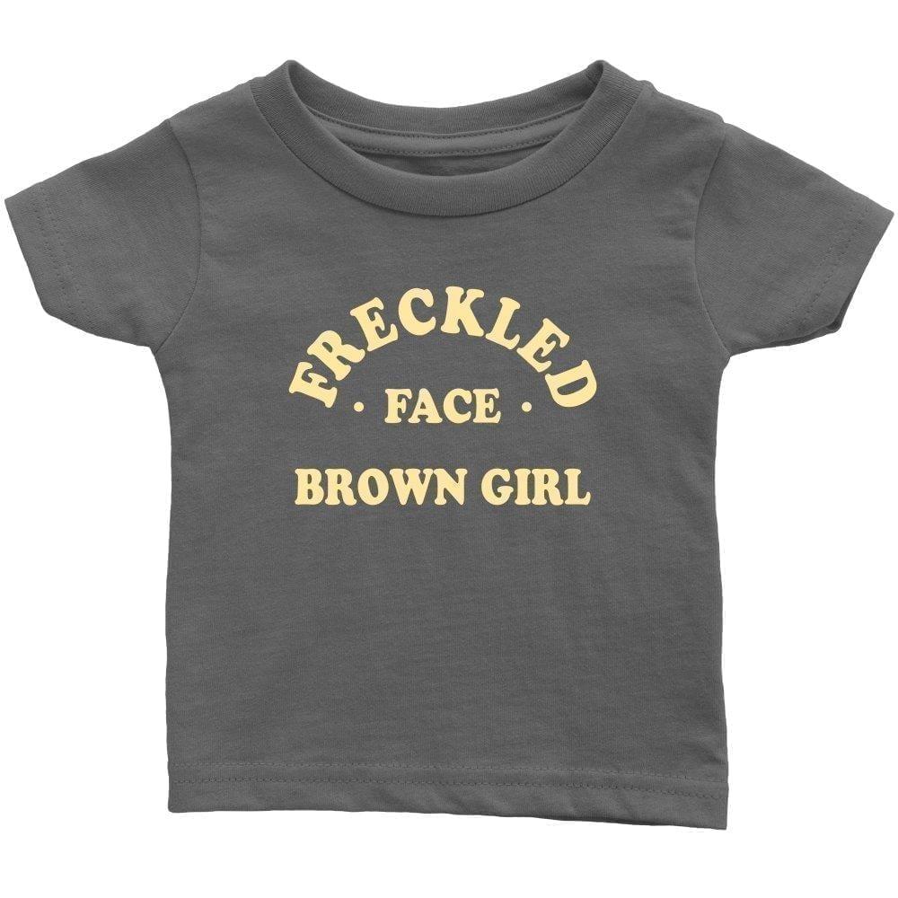 Freckled Face Brown Girl - Melanin Apparel