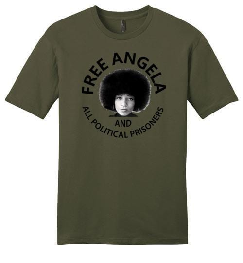 Free Angela And All Political Prisoners - Melanin Apparel