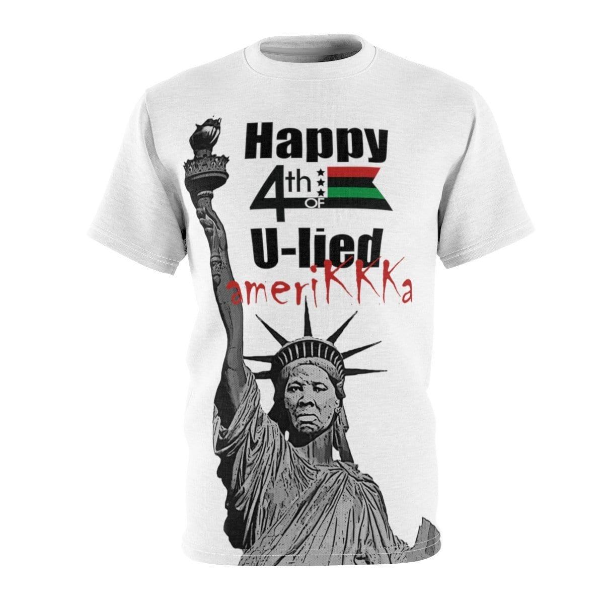 Harriet Tubman Statue Of Liberty Happy 4th Of U-Lied AmericKKKa - Melanin Apparel