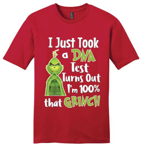 I Just Took A DNA Test I'm That Grinch - Melanin Apparel