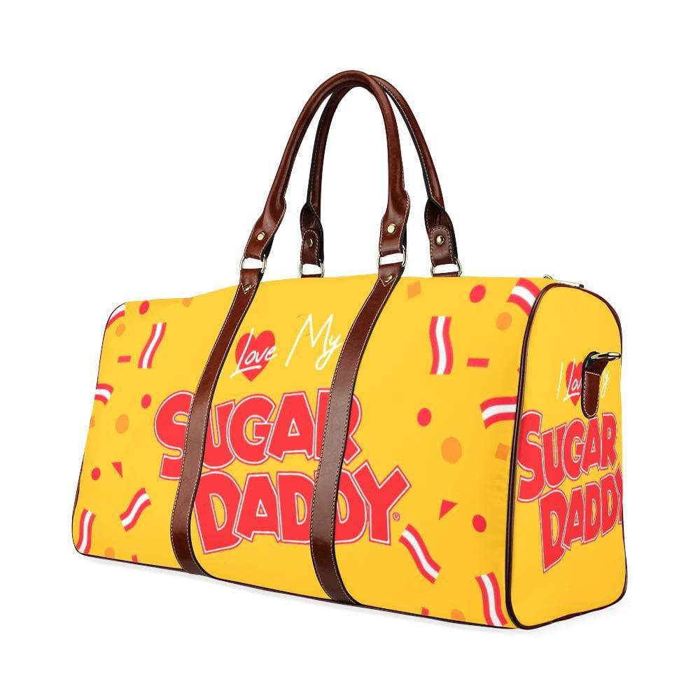 I Love My Sugar Daddy Large Waterproof Travel Bag - Melanin Apparel