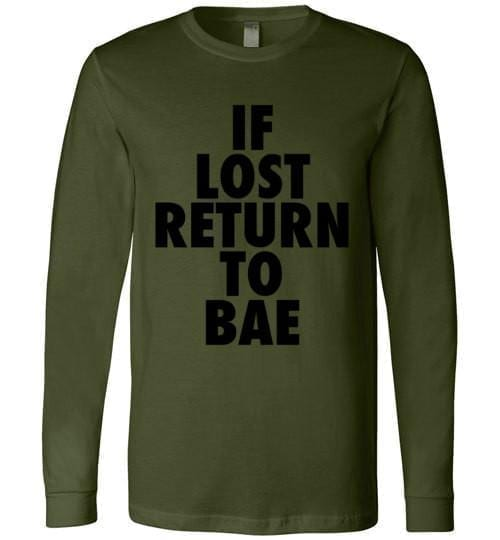 If Lost Return To Bae - Melanin Apparel