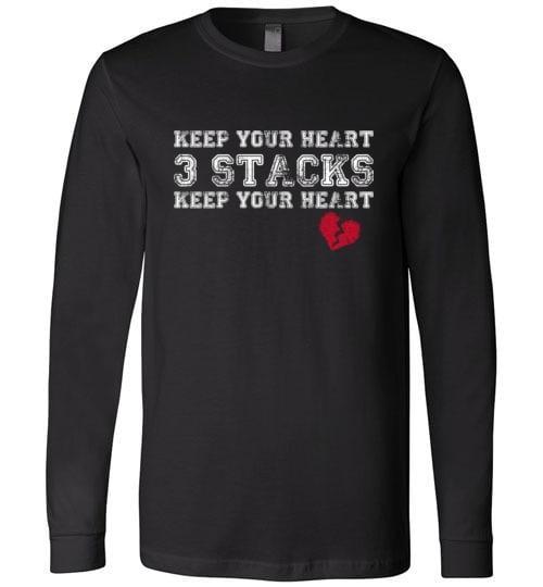 Keep Your Heart 3 Stacks Long sleeve - Melanin Apparel