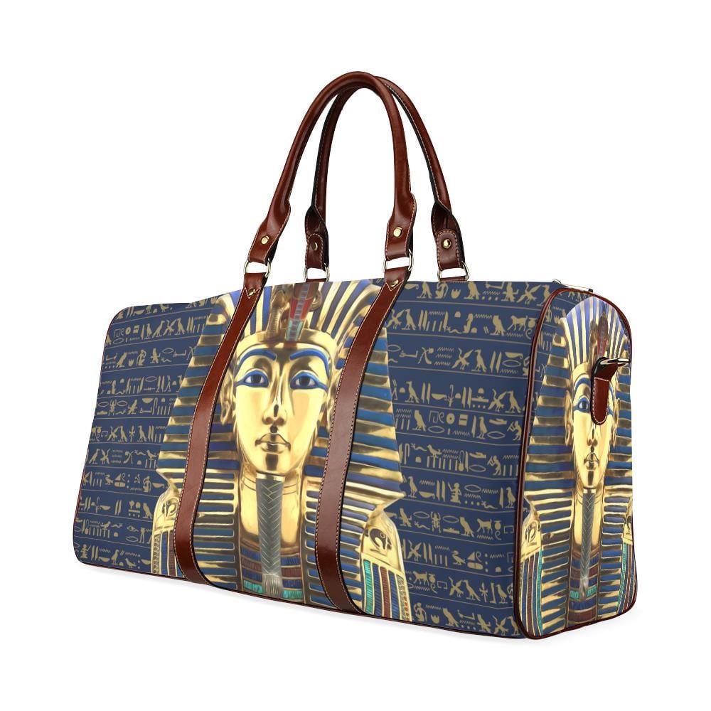 King Tut Large Waterproof Travel Bag - Melanin Apparel