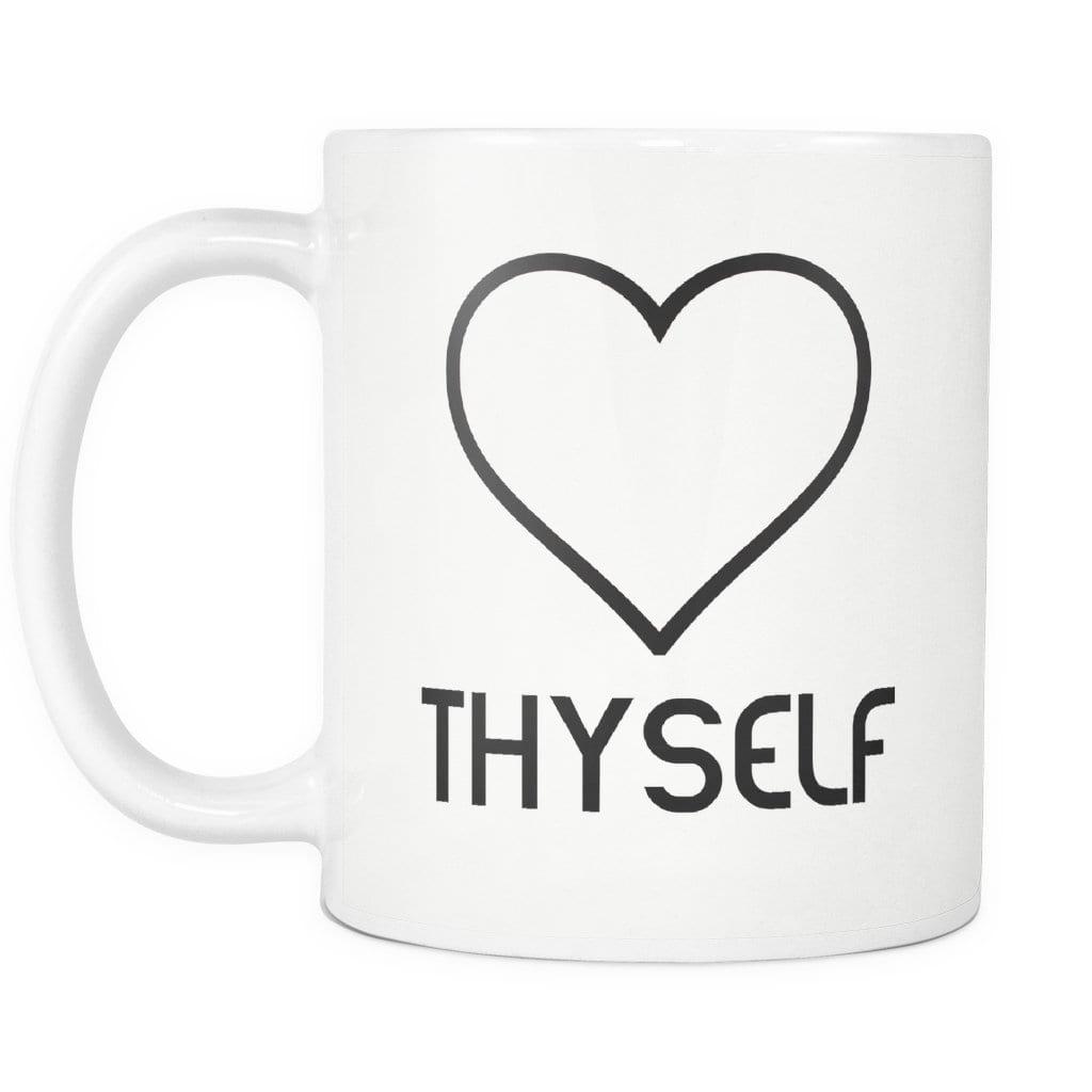 Love Thyself Mug - Melanin Apparel