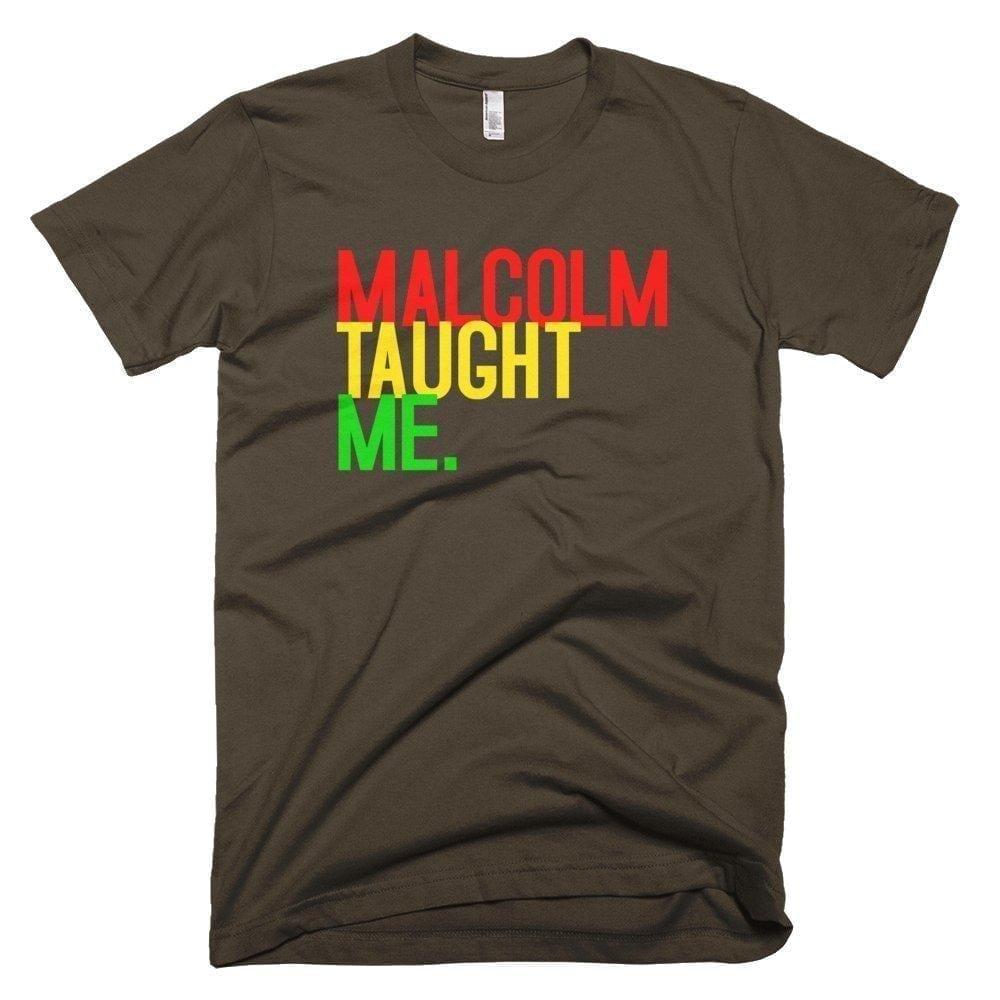 Malcolm Taught Me - Melanin Apparel