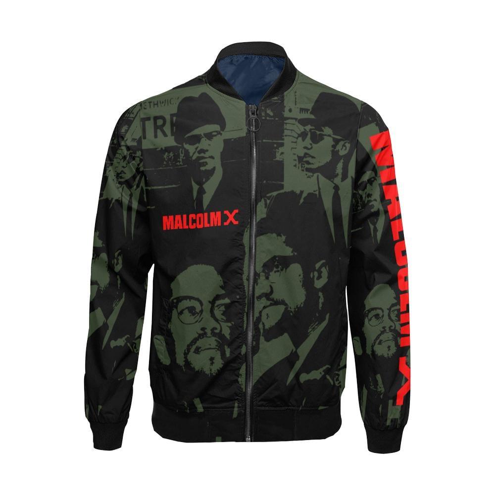 Malcolm X Bomber Jacket - Melanin Apparel