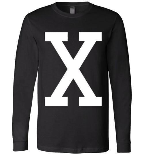 "Malcolm ""X"" retro Long Sleeve Tee - Melanin Apparel"