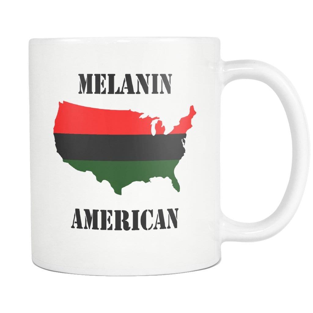 Melanin American Mug - Melanin Apparel