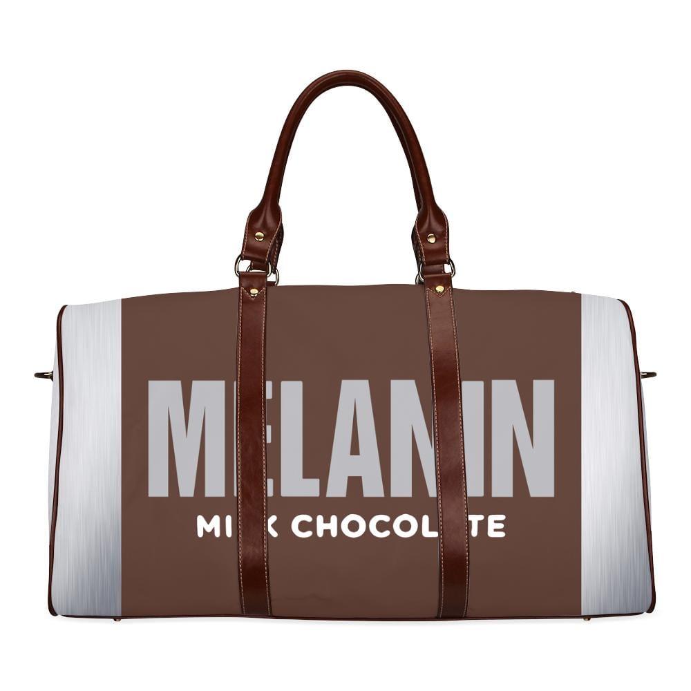 Melanin Milk Chocolate Large Waterproof Travel Bag - Melanin Apparel