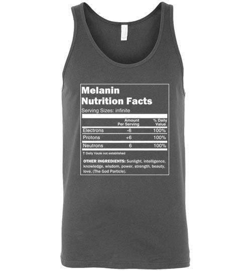 Melanin Nutrition Facts Tank - Melanin Apparel