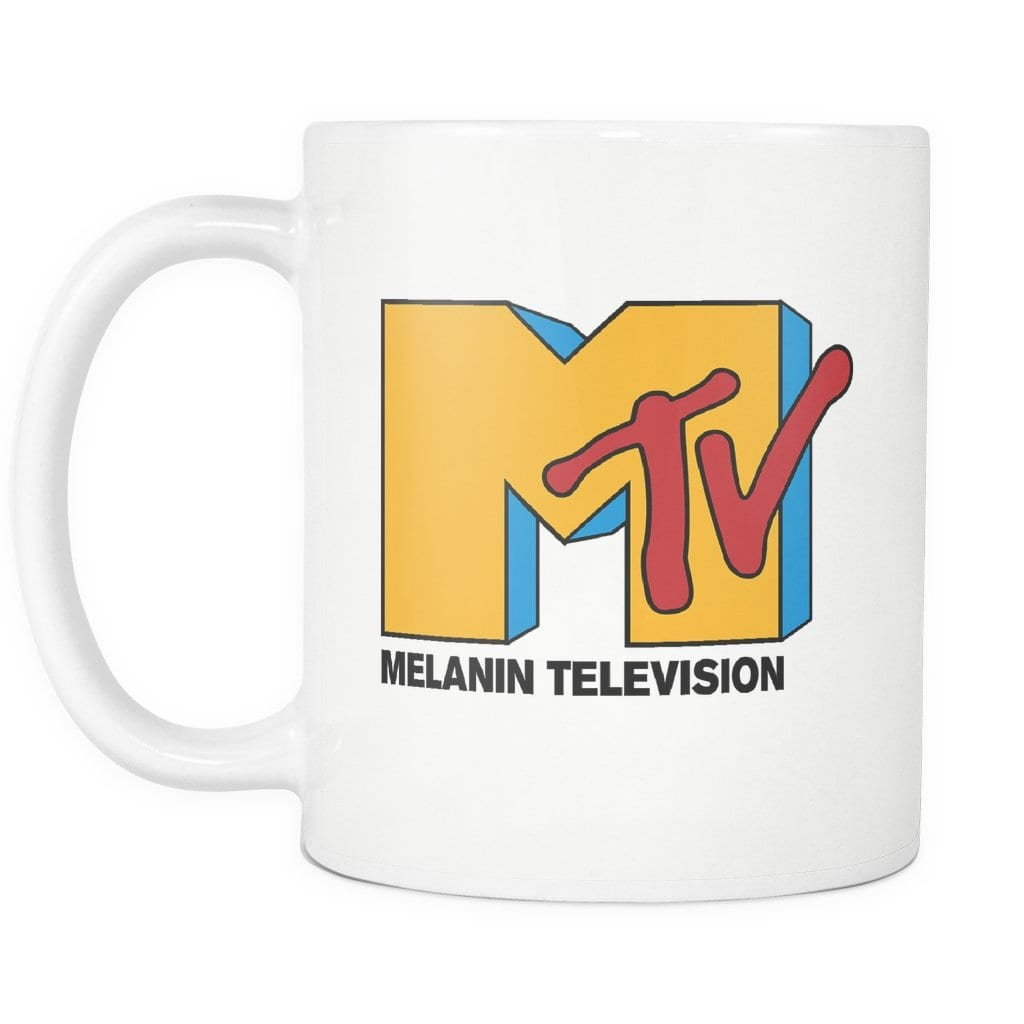 Melanin Television Mug - Melanin Apparel