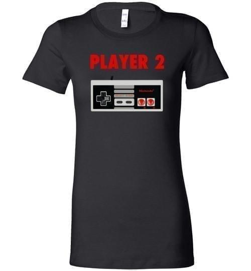 Player Two Classic Nintendo Retro Tee - Melanin Apparel