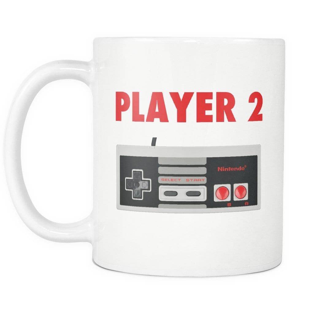 Player Two Retro Nintendo Mug - Melanin Apparel