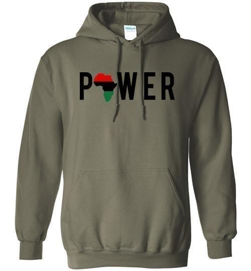 Power Hoodie - Melanin Apparel