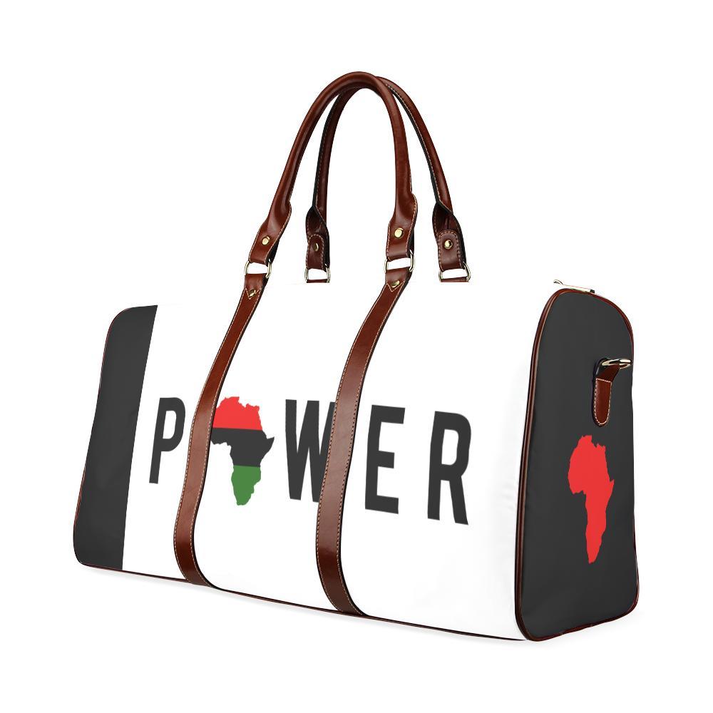 Power Large Waterproof Travel Bag - Melanin Apparel