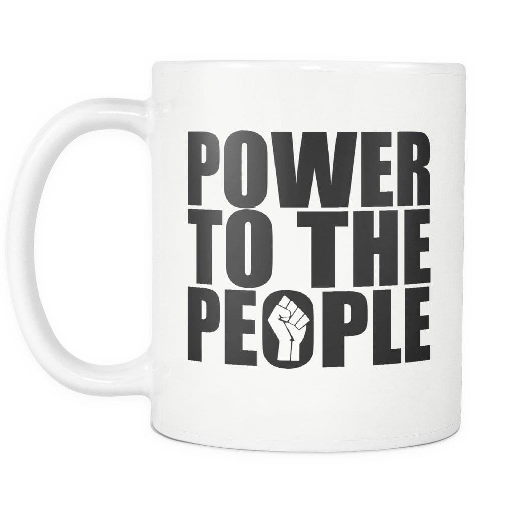 Power to the People Mug - Melanin Apparel