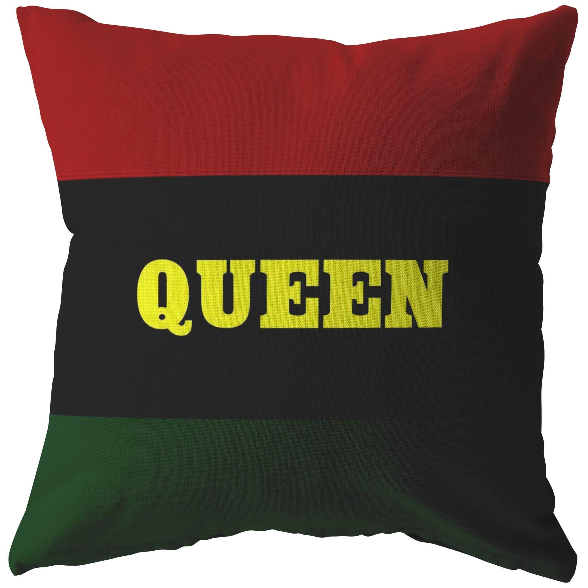 QUEEN Pillow - Melanin Apparel