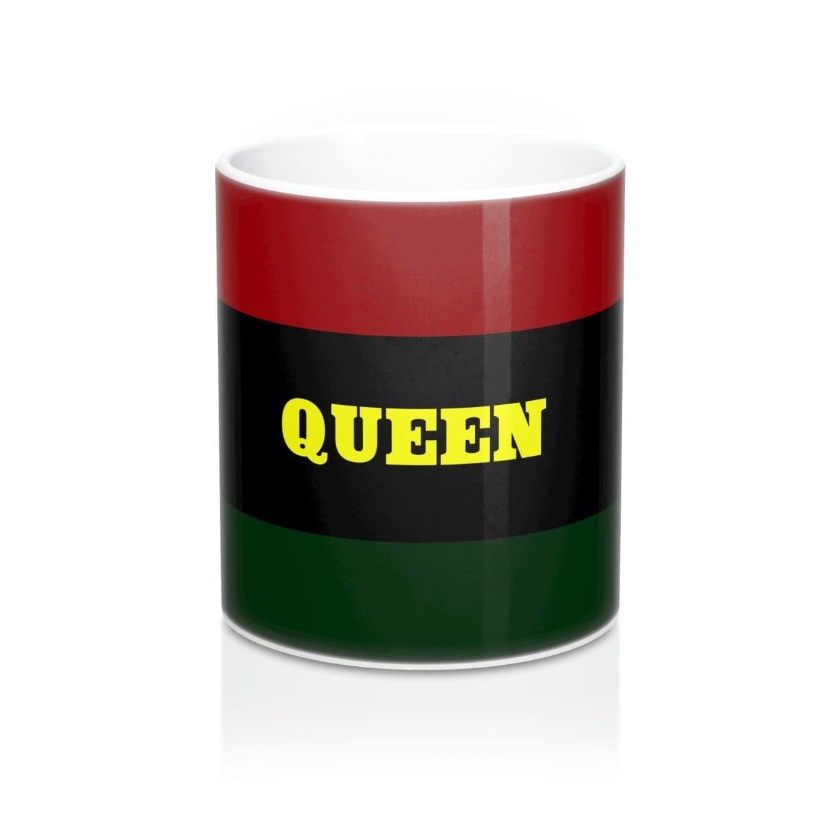 Queen RBG Mug 11oz - Melanin Apparel