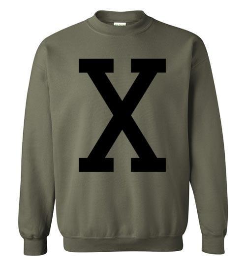 Retro Malcolm X Sweatshirt - Melanin Apparel
