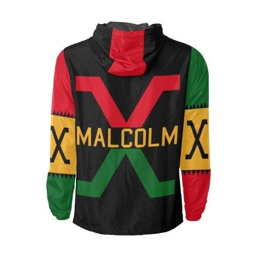 Retro Malcolm X Windbreaker - Melanin Apparel