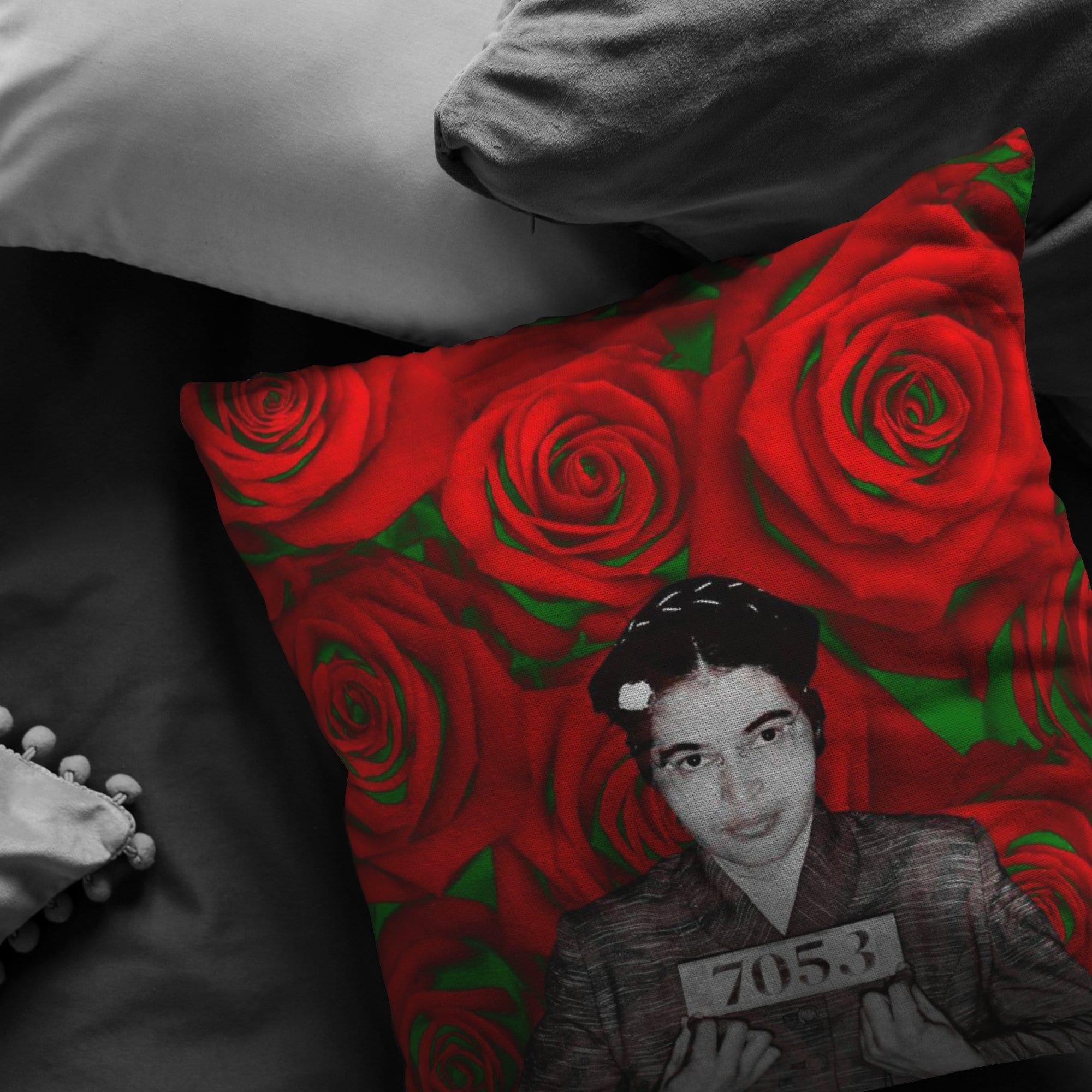 ROSA PARKS 7053 Pillow - Melanin Apparel