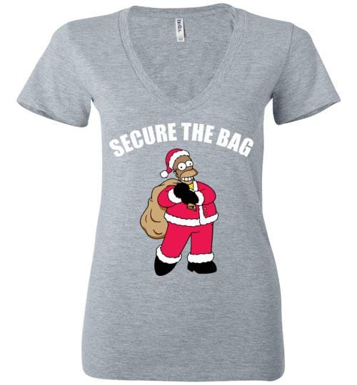 Secure The Bag Black Homer - Melanin Apparel