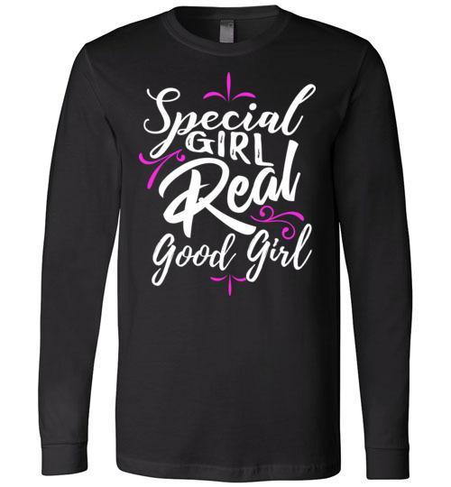 Special Girl Real Good Girl (Pink) - Melanin Apparel