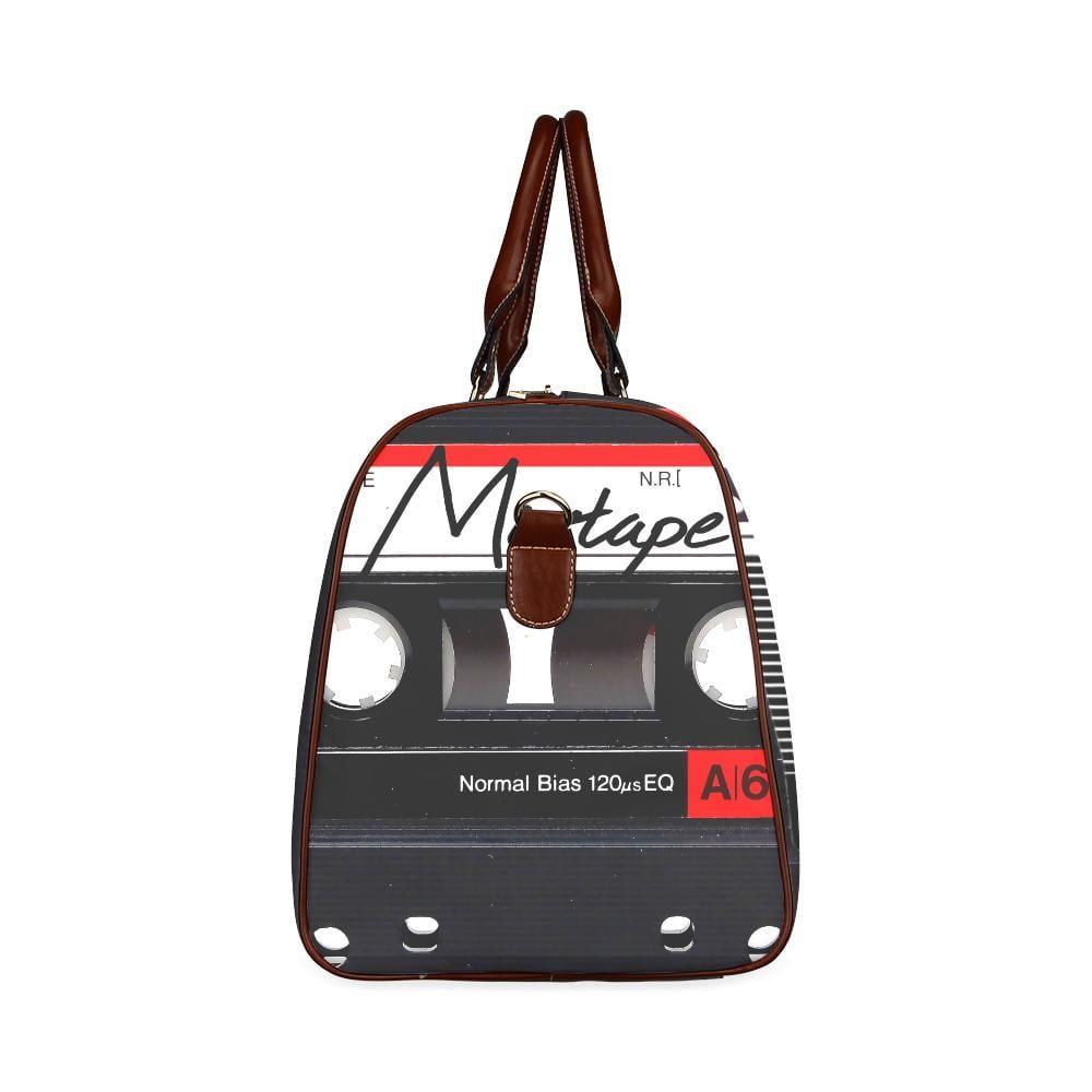 The Ultimate Mixtape Large Waterproof Travel Bag - Melanin Apparel